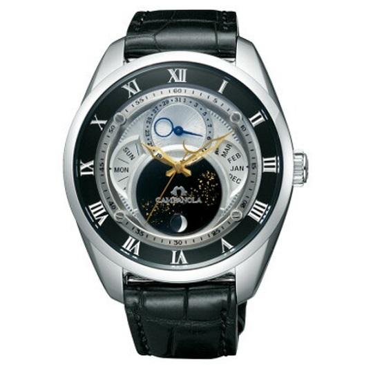 メンズ腕時計 カンパノラ エコ・ドライブ フレキシブルソーラー CAMPANOLA BU0020-03A 【正規品/新品】
