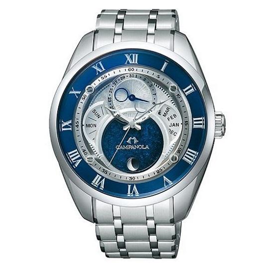 メンズ腕時計 カンパノラ エコ・ドライブ フレキシブルソーラー CAMPANOLA BU0020-54A 【正規品/新品】