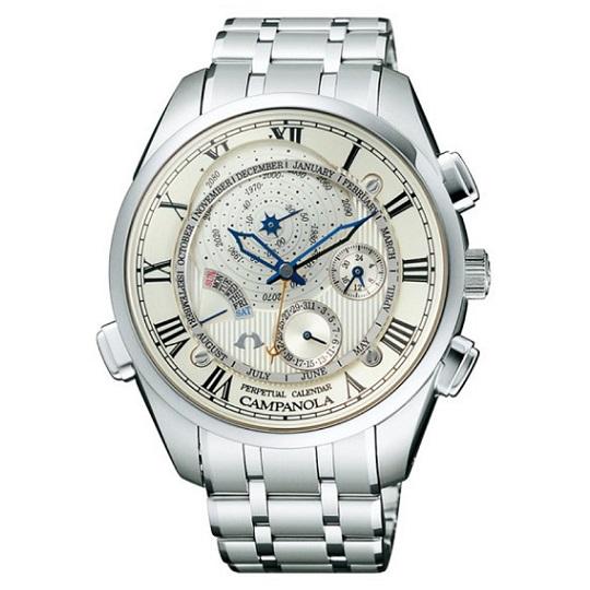 メンズ腕時計 カンパノラ パーペチュアルカレンダーCAMPANOLA CTR57-0981 【正規品/新品】