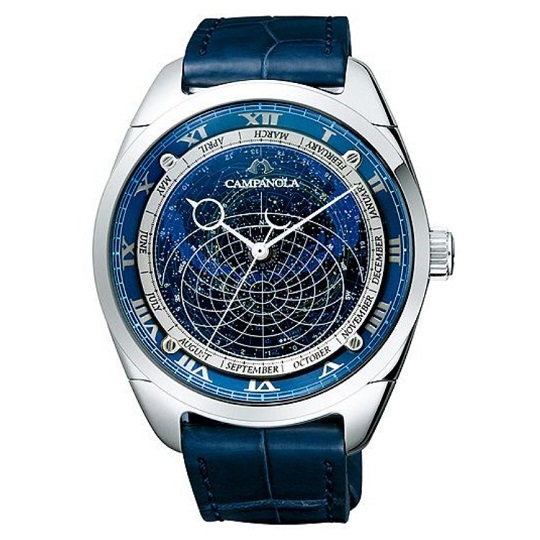 メンズ腕時計 カンパノラ コスモサインCAMPANOLA CTV57-1231 【正規品/新品】