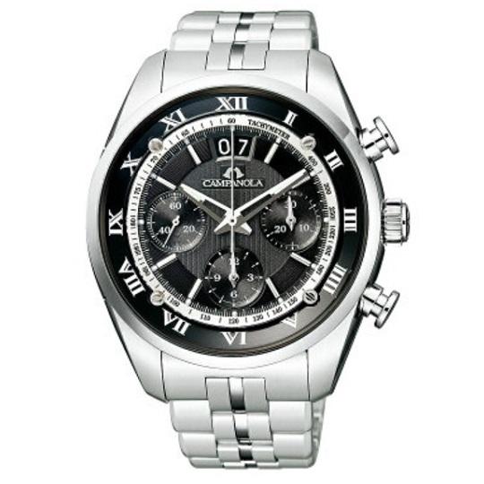 メンズ腕時計 カンパノラ メカニカルコレクション クロノグラフCAMPANOLA NZ1000-61E 【正規品/新品】