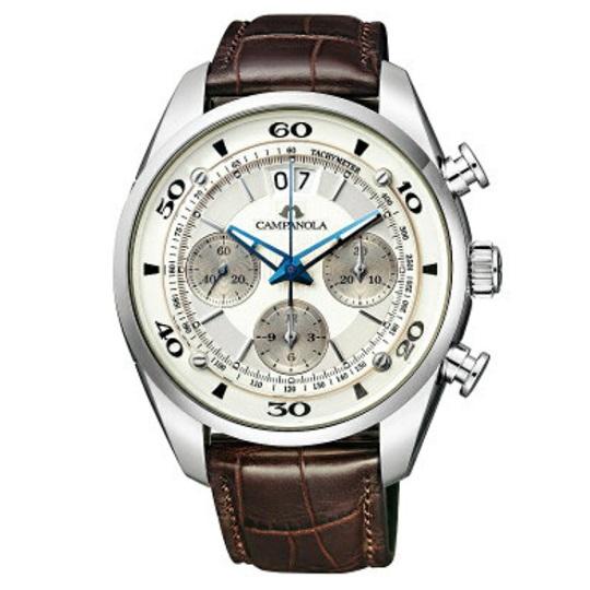 メンズ腕時計 カンパノラ メカニカルコレクション クロノグラフCAMPANOLA NZ1001-09A 【正規品/新品】