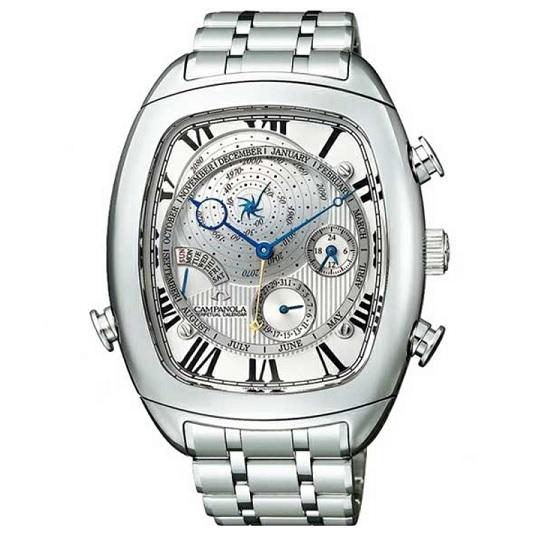 【正規品/新品】メンズ腕時計 カンパノラ パーペチュアルカレンダー【CAMPANOLA】AG6250-50A