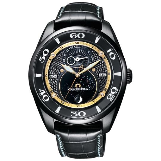 カンパノラ CAMPANOLA 塵地螺鈿(ちりじらでん) エコ・ドライブ BU0024-02E メンズ腕時計 限定モデル