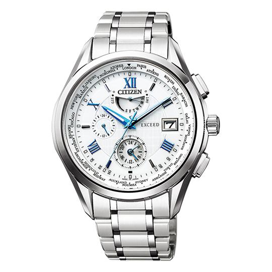 シチズン CITIZEN エクシード EXCEED メンズ腕時計 AT9110-58A