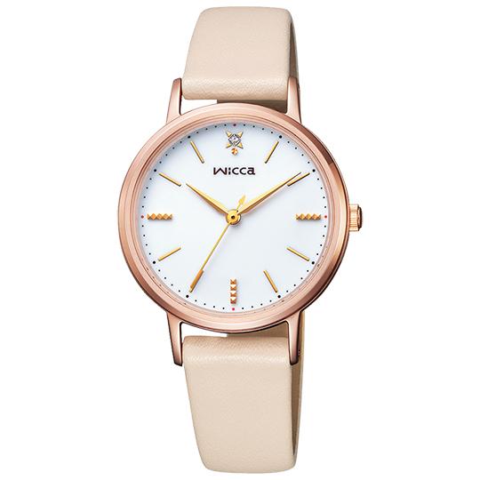 シチズン CITIZEN ウィッカ WICCA レディース腕時計 KP5-166-10