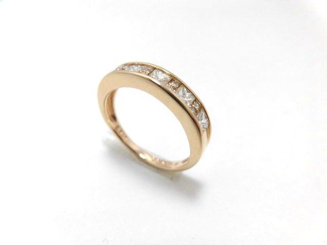 K18PGダイヤモンドリング G1371/12号/リング/指輪/ゆびわ/ring/ジュエリー/ダイヤ/女性用/レディース/プレゼント/ギフト/お買い得/オススメ/送料込み/宝石