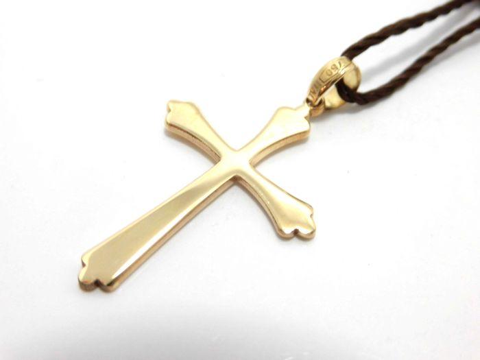 最安値挑戦! ウノアエレ K18ペンダントトップ 十字架 クロス クロス 十字架 チャーム メンズ チャーム レディース, ダイセンチョウ:39eb059c --- yoursuccessevite.com