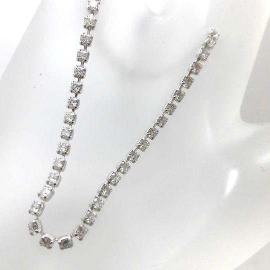 Ptダイヤモンドブレスレット プラチナ ダイヤモンド G2357 ジュエリー アクセサリー 30%OFF