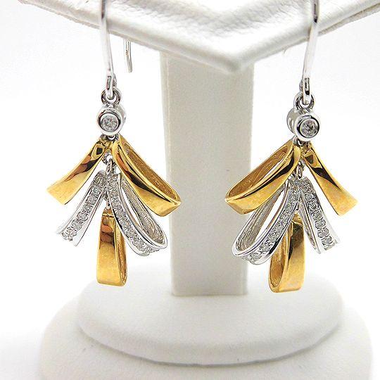 K18ゴールドピアス ホワイトゴールド ダイヤモンド0.2CT F9671 ジュエリー アクセサリー 宝石 送料無料 30%OFF