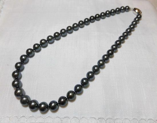 SV 黒蝶真珠 10.4~8.1mm
