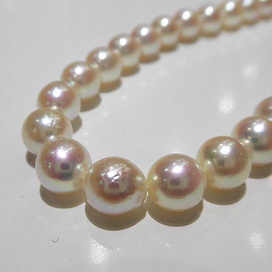 あこや真珠 ネックレス パール 宝石 プレゼント 贈り物 F8583