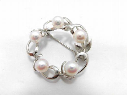 SVアコヤ真珠ブローチ/真珠6.0mm 5ピース/大きさ3.1cm/A1111713/ブローチ/ジュエリー/女性用/レディース/プレゼント/ギフト/お買い得/オススメ/送料込み/宝石