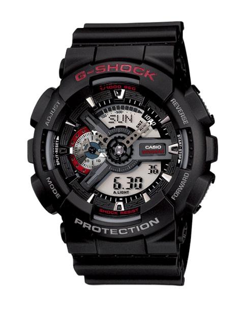 CASIO G-SHOCK カシオ Gショック メンズ 腕時計 GA-110-1AJF