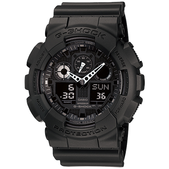 CASIO カシオ G-SHOCK ジーショック メンズ腕時計 GA-100-1A1JF20%OFF価格