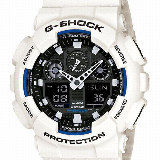 CASIO G-SHOCK カシオ Gショック メンズ腕時計 GA-100B-7AJF 20%OFF価格