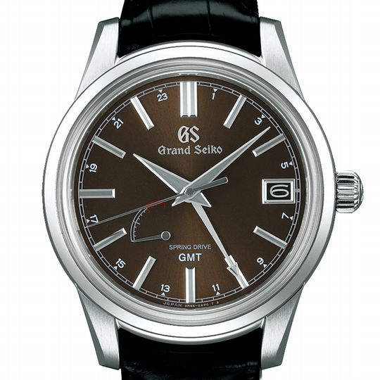 グランドセイコー SBGE227 スプリングドライブ GMT 40mm メンズ腕時計