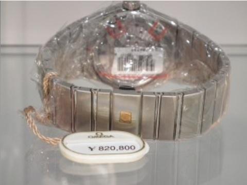 【正規品/新品】メンズ腕時計,オメガ コンステレーション[OMEGA Constellation] Ref,123.10.38.21.52.001