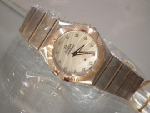 【正規品/新品】レディース腕時計,オメガ コンステレーション[OMEGA Constellation] Ref,123.20.27.60.55.006
