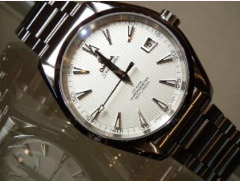 OMEGA オメガ シーマスター アクアテラ メンズ腕時計 OMEGA SEAMSTER Ref 231.10.42.21.02.001