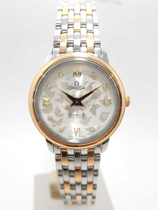 OMEGA オメガ デヴィル バタフライ レディース腕時計 OMEGA DeVille Ref 123.20.27.60.52.002
