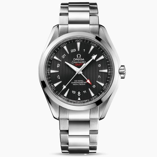 OMEGA オメガ シーマスター アクアテラ GMT メンズ腕時計 OMEGA SEAMASTER AQUA TERRA GMT Ref 231.10.43.22.01.001 【30%OFF】