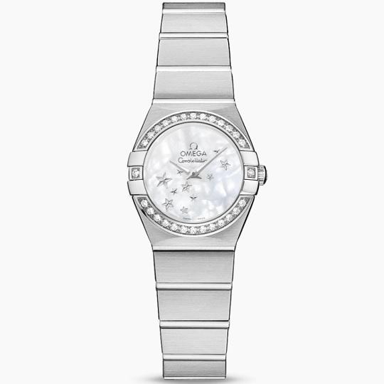 OMEGA オメガ コンステレーション レディース腕時計 OMEGA Constellation Ref 123.15.24.60.05.003 新品・正規品(国際保証書請求はがき有)