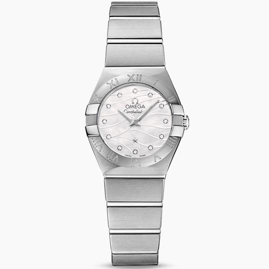 OMEGA オメガ コンステレーション レディース腕時計 OMEGA constellation Ref 123.10.24.60.55.003 新品・正規品(国際保証書請求はがき有)