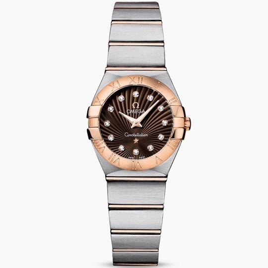 OMEGA オメガ コンステレーション レディース腕時計 OMEGA Constellation Ref 123.20.24.60.63.001 新品・正規品(国際保証書請求はがき有)