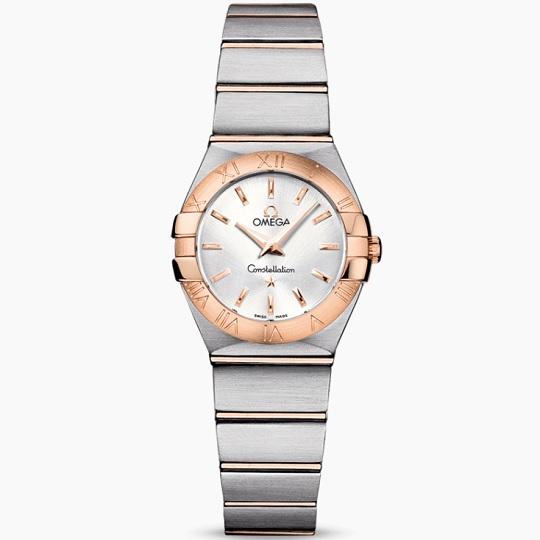OMEGA オメガ コンステレーション レディース腕時計 OMEGA Constellation Ref 123.20.24.60.02.001 新品・正規品(国際保証書請求はがき有)