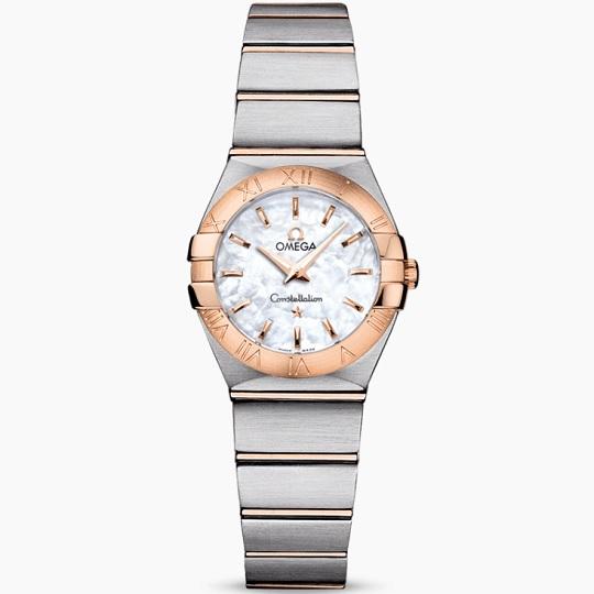 OMEGA オメガ コンステレーション レディース腕時計 OMEGA Constellation Ref 123.20.24.60.05.001 新品・正規品(国際保証書請求はがき有)