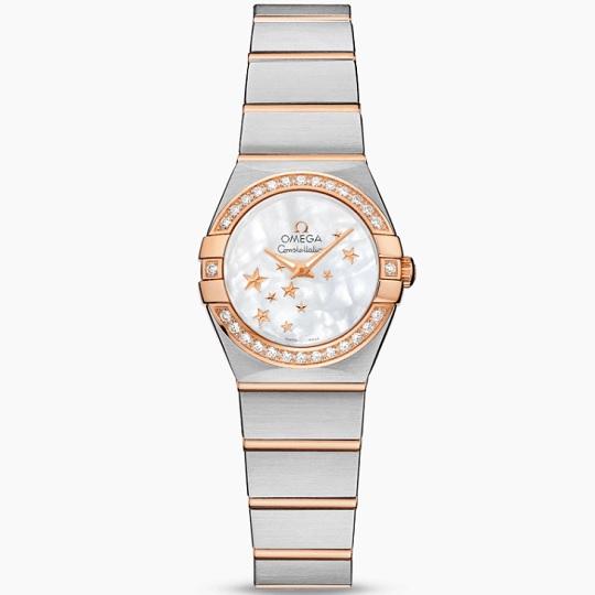 OMEGA オメガ コンステレーション レディース腕時計 OMEGA Constellation Ref 123.25.24.60.05.002