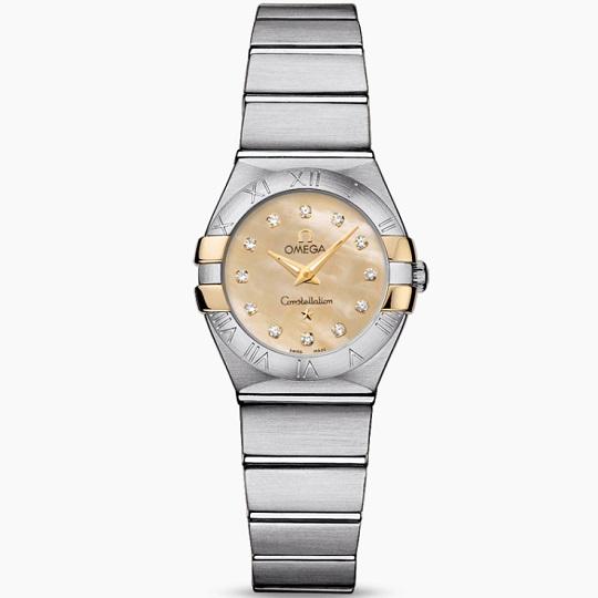 OMEGA オメガ コンステレーション レディース腕時計 OMEGA Constellation Ref 123.20.24.60.57.002