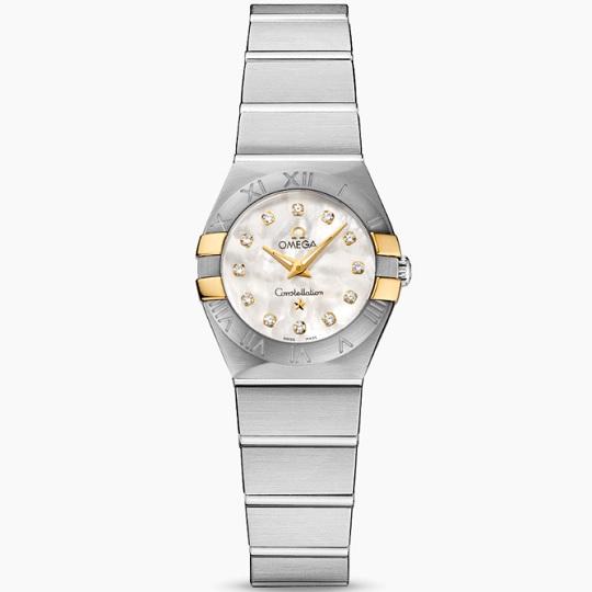 OMEGA オメガ コンステレーション レディース腕時計 OMEGA Constellation Ref 123.20.24.60.55.006