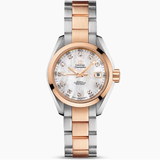 OMEGA オメガ シーマスター アクアテラ レディース腕時計 OMEGA SEAMSTER Ref 231.20.30.20.55.001 新品・正規品(国際保証書請求はがき有)