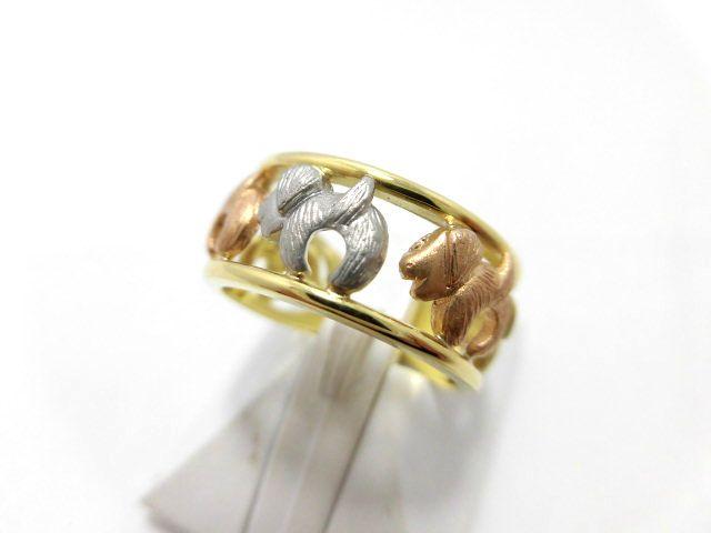 K18Pt地金リング G1236/12号/幅8mm/リング/指輪/ジュエリー/ダイヤ/女性用/レディース/プレゼント/ギフト/お買い得/オススメ/送料込み/宝石