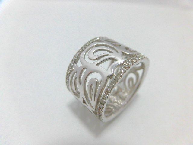 K18WGダイヤモンドリング/D0.55ct/F4537/リング/指輪/ジュエリー/女性用/レディース/プレゼント/ギフト/お買い得/オススメ/送料込み