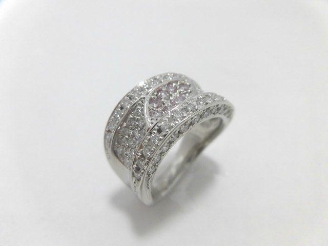 PTピンクダイヤダイヤモンドリング/PD0.20ct D0.99ct/F6509/リング/指輪/ジュエリー/女性用/レディース/プレゼント/ギフト/お買い得/オススメ/送料込み/宝石