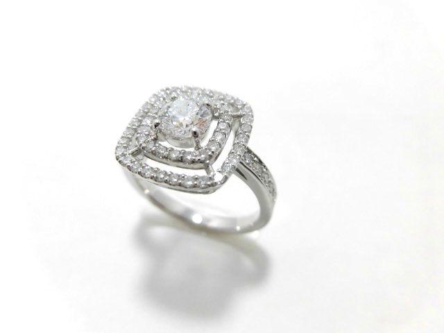 Ptダイヤモンドリング/D0.514ct 0.45ct/G826/D・SI2・VG/リング/指輪/ゆびわ/ring/ジュエリー/女性用/レディース/プレゼント/ギフト/お買い得/オススメ/送料込み/宝石