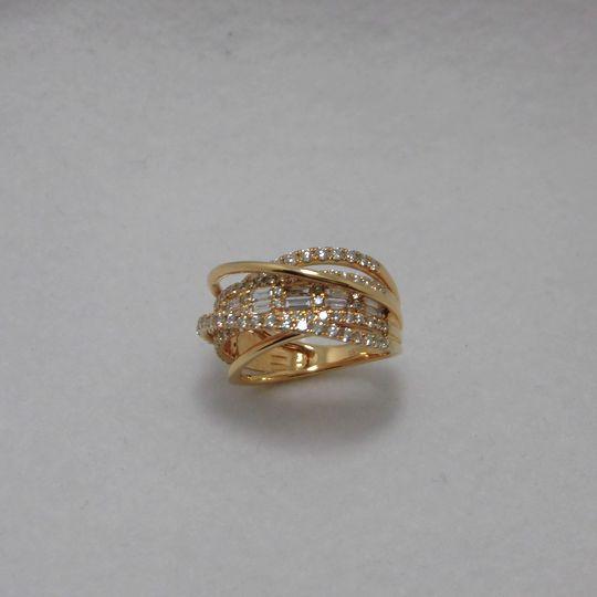 K18ダイヤリング 1.5ct ジュエリー リング 指輪 プレゼント 贈り物 ギフト 女性用 G1548