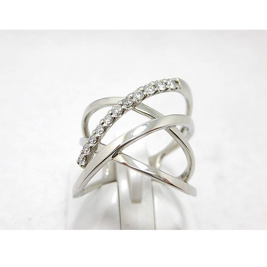 プラチナダイヤリング 0.22 ジュエリー リング 指輪 プレゼント 贈り物 ギフト 女性用 G2425