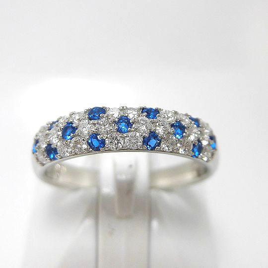 アウイナイトリング 0.17ct ダイヤモンド Pt900 指輪 ジュエリー 女性用 プレゼント 贈り物 G2556