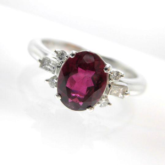 Ptトルマリンリング ダイヤモンド 0.16ct トルマリン 1.07ct ジュエリー リング 指輪 プレゼント 贈り物 ギフト 女性用 オノ21176 30%OFF