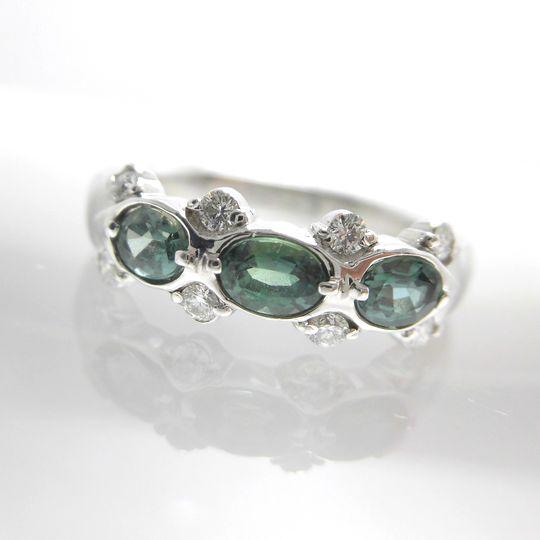 Ptアレキサンドライトリング ダイヤモンド0.16ct アレキサンドライト0.67ct ジュエリー リング 指輪 プレゼント 贈り物 ギフト 女性用 オノ23342 30%OFF