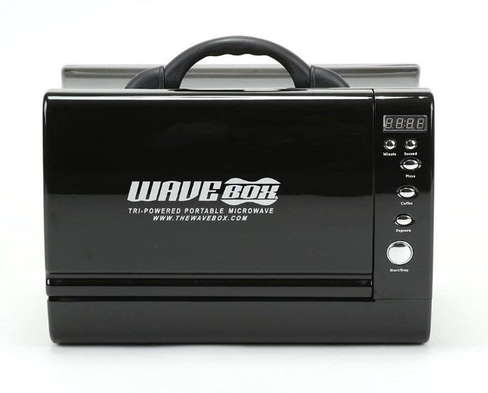 【送料無料】WAVEBOX ポータブル電子レンジ 黒