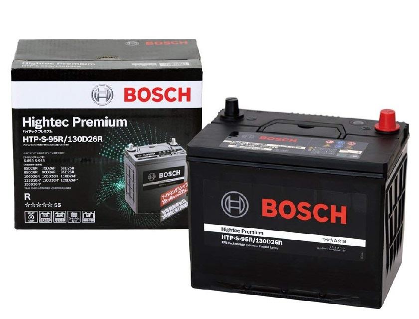 【送料無料】BOSCH ボッシュ 国産車用 普通車 アイドリングストップ車 ハイテック プレミアム バッテリー HTP S-95R/130D26R