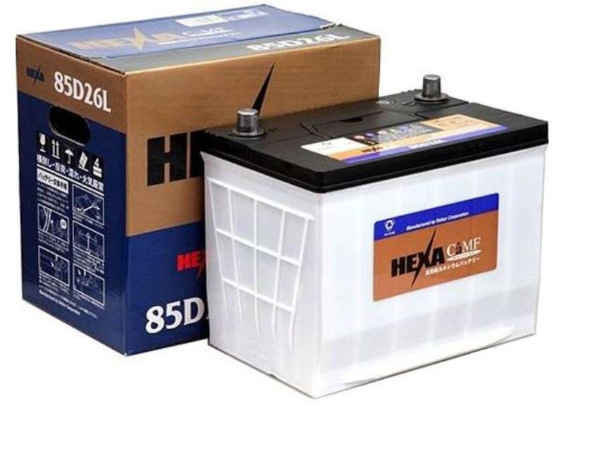 【送料無料】HEXA ヘキサ 国産車用高性能カルシウムバッテリー 85D26L