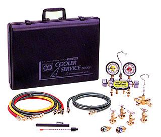 ガスチャージセット2バルブ方式CP-2VS-F