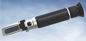 1年メーカー保証温度自動補正糖度計屈折計VOL計Birx(0-40%)目盛0.2%