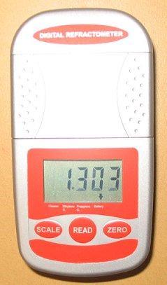 1年メーカー保証税込車用デジタル屈折計比重計:クーラントバッテリーテスター